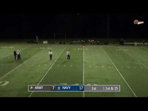 2018 CSFL Championship Game Highlights: Army Vs. Navy