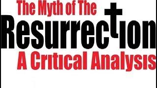 THE MYTH OF JESUS' RESURRECTION: A Critical Analysis - Rabbi Michael Skobac - Jews for Judaism