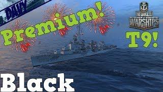World of Warships Gameplay ITA - BLACK - SBAGLIANDO SI VINCE..?! (PREMIUM AMERICANA)
