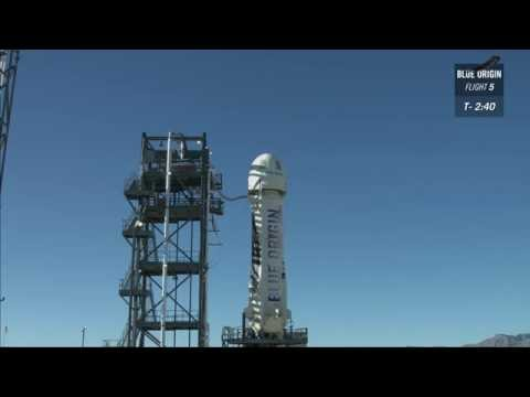Replay of In-flight Escape Test Live Webcast