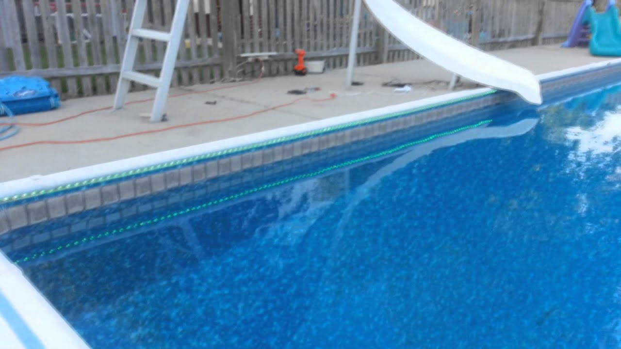 LED Pool Lighting project