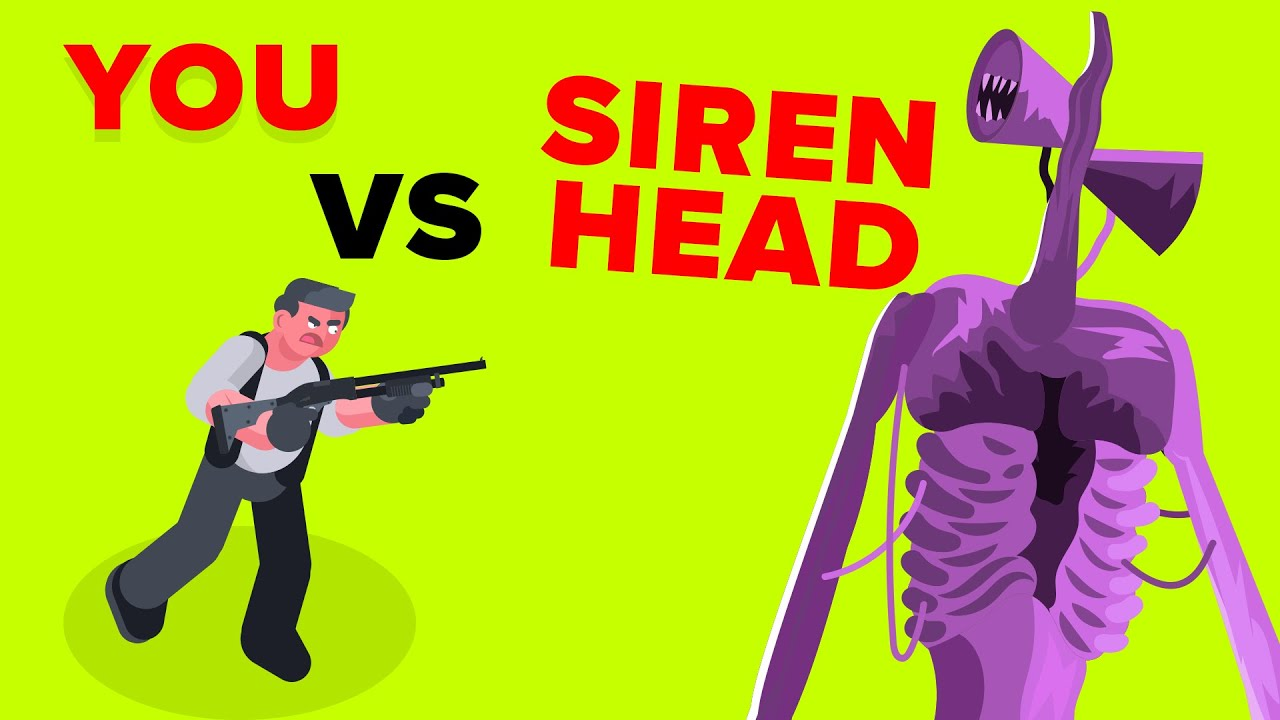 YOU vs SIREN HEAD – How Could You Defeat and Survive It?
