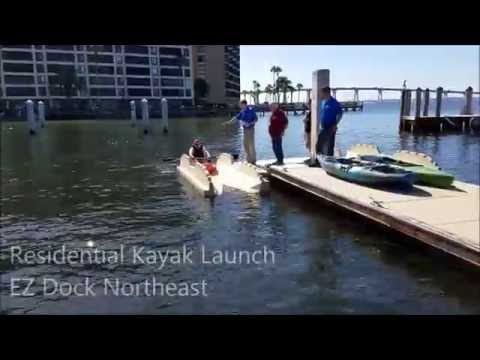 The EZ Dock Just Might Be the Best Invention Ever for Launching a Kayak