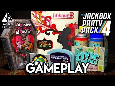 Jackbox Party Pack 4 Gameplay - Let's Play Fibbage 3!!