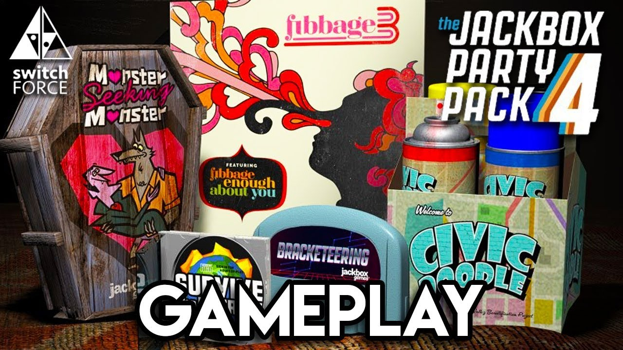 Jackbox Party Pack 4 Gameplay - Let\u0027s Play Fibbage 3!! - YouTube