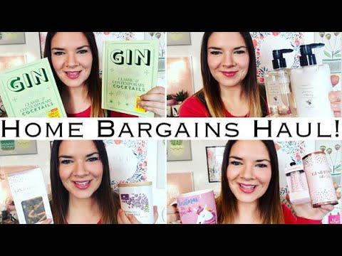 Home Bargains Haul! November 2018