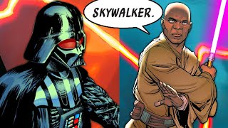 MACE WINDU IS BACK AND MEETS DARTH VADER(CANON) - Star Wars Comics Explained
