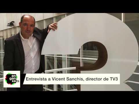 Entrevista a Vicent Sanchis, director de TV3 | Enganxats Radio