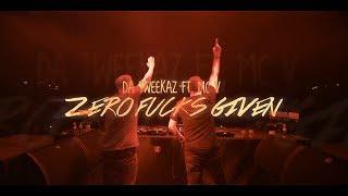 Смотреть клип Da Tweekaz Ft. Mc V - Zero Fucks Given
