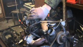 Opel Corsa engine old start cold start.
