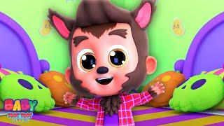 Пять Маленьких Чудовищ | Песни про Хэллоуин | Мультфильмы | Детская Песня