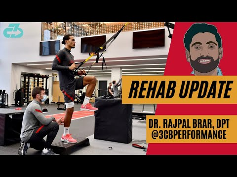 [OC] Virgil Van Dijk rehab update: Explaining his current phase of physio and if he's on schedule