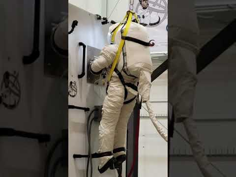 EVA Suit Training At CSA 2