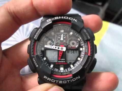 часы g shock инструкция на русском ga 100a духи купить