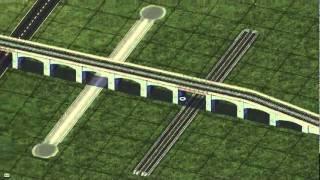 Sim City 4 Tutorial  How To Use Rail Puzzle Pieces