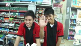 """Fields Ave 7/11 """"Very Happy Employees"""" (MT) Angeles City"""