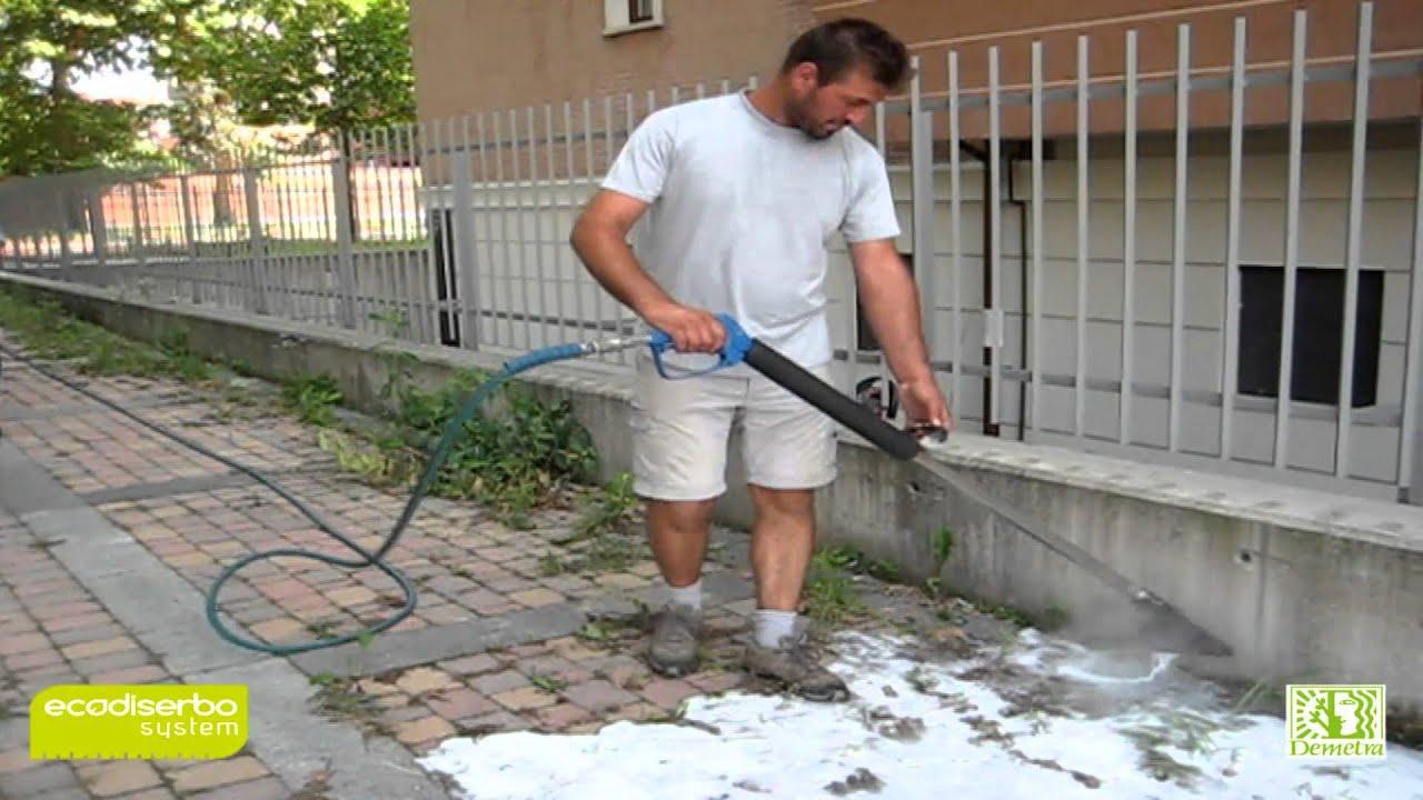 Ecodiserbo system youtube for Diserbante per erbacce