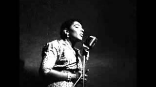 Carmen McRae. A song for you