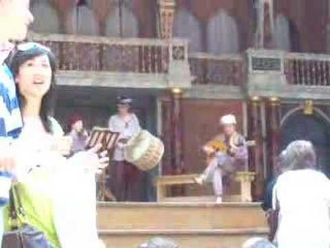 Grand Tour Intermission London Globe Theater July 7 2007