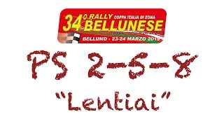 """Download Video PS 2,5,8 """"Lentiai"""" 34°Rally Bellunese MP3 3GP MP4"""