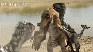 Reino de Dinosaurios (HD) La Cazeria de los Utahraptores