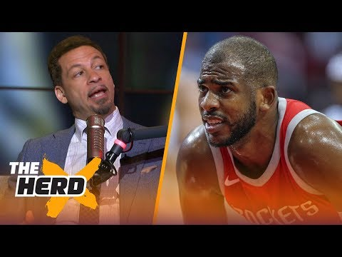 Chris Broussard on Lakers' drama deterring LeBron, Chris Paul supermax demands | NBA | THE HERD