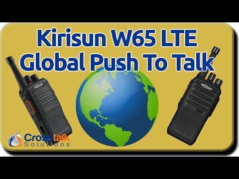 Kirisun W65 LTE Push to Talk radios