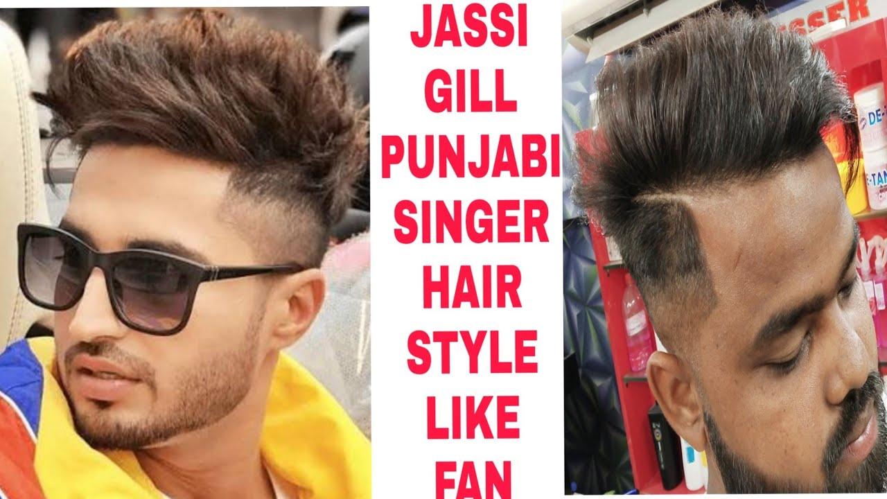 Jassi Gill Punjabi Singer Hair Style Like Fan 2019 Youtube