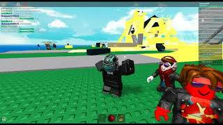ROBLOX Natural Disaster Survival avec (lame)