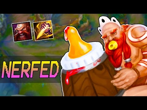 MY BABY GOT NERFED - Gragas Jungle Gameplay - How to Carry #39 - League of Legends