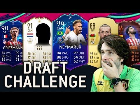 UEFA TEAM OF THE YEAR DRAFT CHALLENGE! FIFA 19