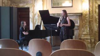 Maria Grenfell – Time Transfixed. Jessica Voigt-Page saxophone.