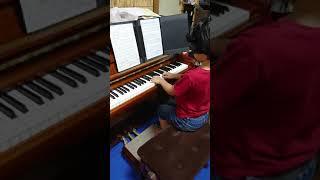 2019年カワイこどもピアノコンクール Cコース(連弾) コンクールに向け...