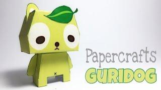 Guridog Paper Crafts tutorial !