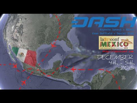 Dash: Evan Duffield at LaBitConf (Mexico City) Dec 2015 = C15E05