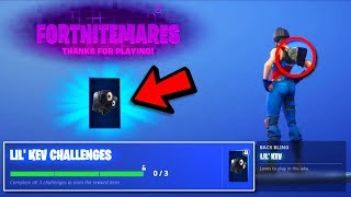 "'NOUVEAU' COMMENT GET ""LIL KEV"" BACK BLING GRATUIT à Fortnite! 'NOUVEAU' FREE LIL' KEV BACK BLING UNLOCKED!"
