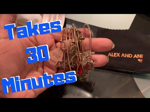 Life hack  How I clean my Alex and Ani Bracelets.