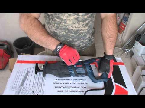 Видео обзор: Сабельная пила BOSCH GSA 1300 PCE