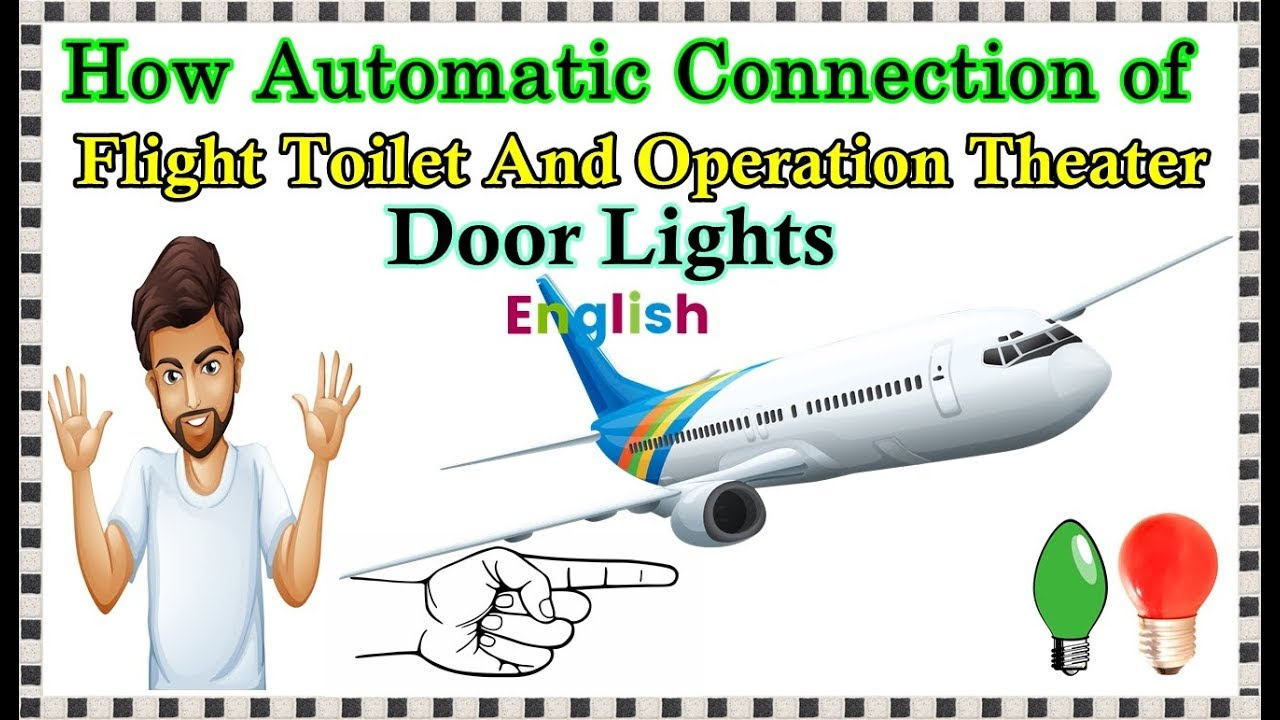 How To Make Operation Theater Door Light & Flight Bathroom Light Automatic On Off English