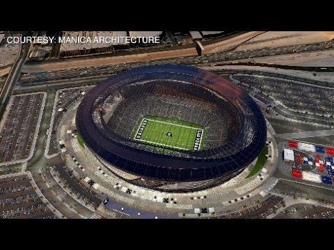 NDOT considers freeway projects near possible Raiders stadium site