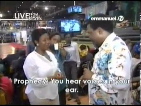 Prophet TB Johua Prophecy Time Words of Knowledge Sunday 15 Sept 13 Live Service Emmanuel TV SCOAN