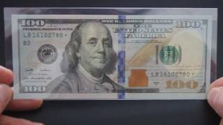 Super Rare One Hundred Dollar Star Note Low Print Run 128,000 !!!!!
