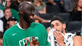 Tacko Fall Checks in, Celtics Fans Go Crazy | October 6, 2019 | 2019 NBA Preseason