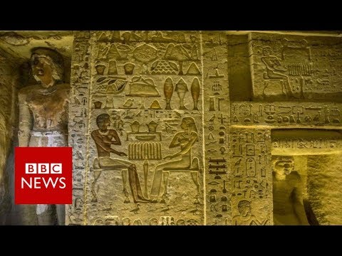Egypt tomb: Saqqara 'one of a kind' discovery revealed - BBC News