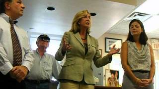 Lt Gov Kerry Healey on Iran 9 7 12 Hollis NH