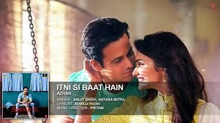 itni si baat hain karaoke with lyrics azhar movie