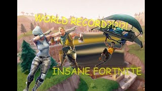 INSANE WORLD RECORD FORTNITE SPEEDRUN IN 34.56