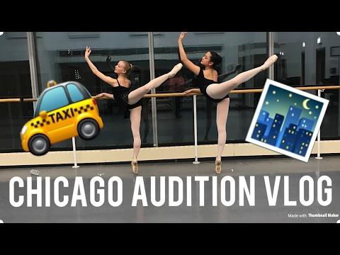 Ballet Audition Vlog!//Chicago//