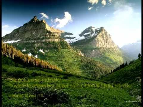 Aziz Kuran'dan Dağ Ayetleri.... (Türkçe seslendirme)