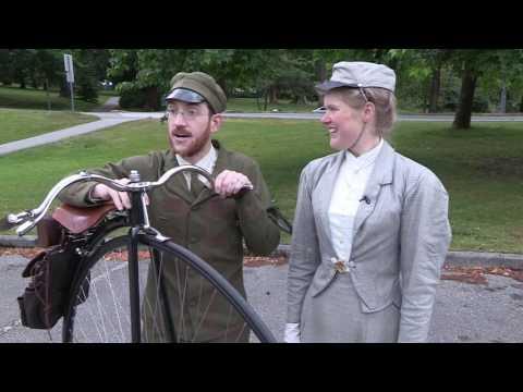 19th century trike and boneshaker tour Stanley Park